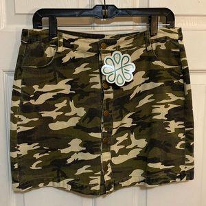 Dresses & Skirts - Camo skirt